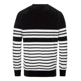 Jumper - Black / White Striped