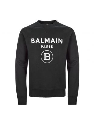 balmain sweatshirt TH13279 I245 OPA black