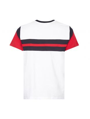 T-Shirt - White / Red / Navy