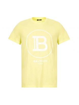 balmain t-shirt TH016011232 IAJ yellow