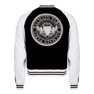 Jacket Teddy - Black / White