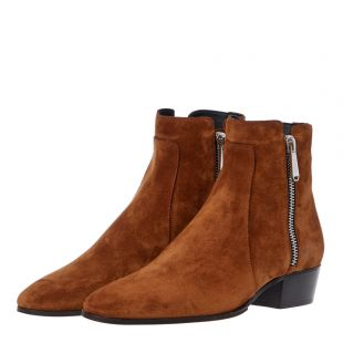Ankle Boots - Tan Suede