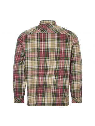 Beacon Shirt Cornerstone - Green / Pink / Ecru