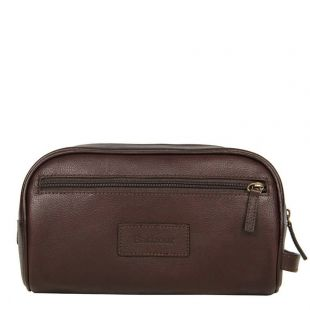Barbour Chocolate Wash Bag UBA0009BR91