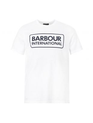 Barbour International T-Shirt Logo|MTS0369 WH11 White|Aphrodite1994