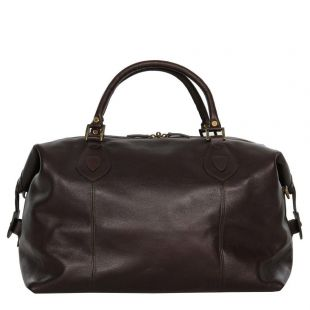 Bag - Chocolate Leather Travel Explorer