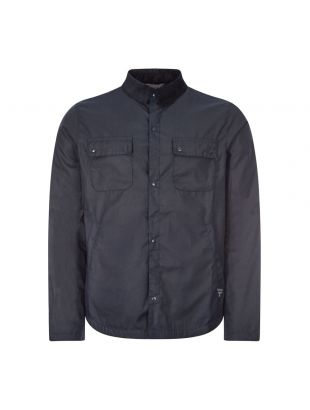 Beacon Wax Shirt Jacket Akenside - Navy