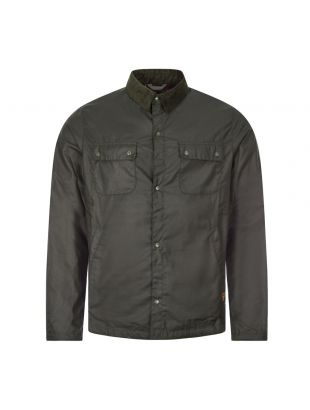 Beacon Wax Shirt Jacket Akenside - Sage