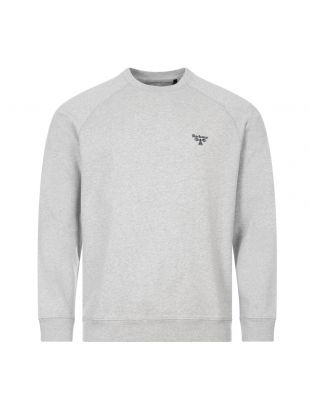 barbour beacon sweatshirt MOL0120 GY52 grey
