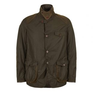 Barbour Beacon Sports Jacket Olive MWX007OL71