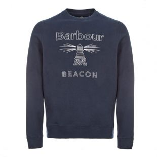 Barbour Beacon Sweatshirt |Navy MOL0147NY31