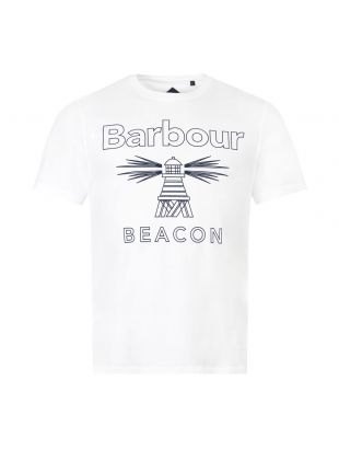 Barbour Beacon T-Shirt |MTS0660 WH11 White| Aphrodite1994