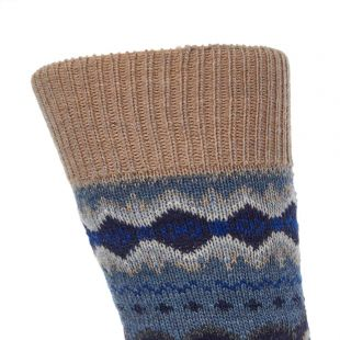 Socks – Fairisle Denim