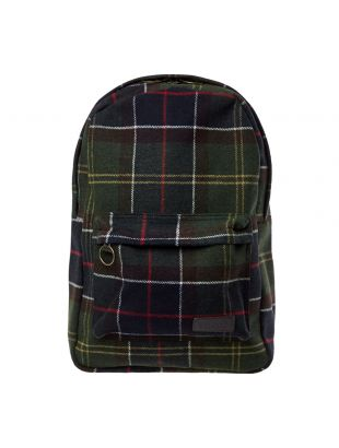 Barbour Carrbridge Backpack | UBA0421 TN11 Navy / Green | Aphrodite