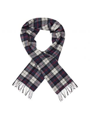 Barbour Scarf | USC0001 NY35 Blue / Grey Tartan