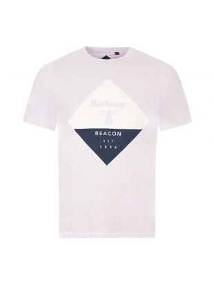 Barbour T-Shirt Diamond Logo | MTS0474PU11 Purple | Aphrodite Clothing