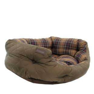 Quilted Dog Bed 30