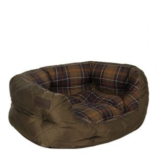 Barbour Dog Bed 24