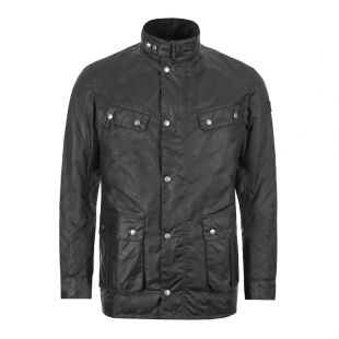 Barbour International Duke Wax Jacket | MWX0337 BK91 Black