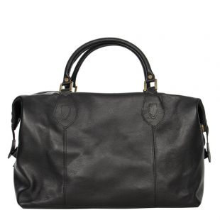 barbour holdall travel explorer uba0008bk11 black leather