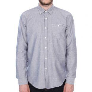 barbour shirt b.intl fuel in indigo