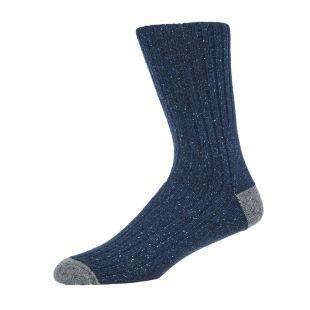 Barbour Socks | MSO0091 NY31 Houghton Navy / Grey