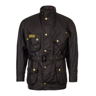 Barbour International Jacket | MWX0004 BK51 Black | Aphrodite1994