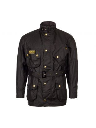 Barbour International Jacket | MWX0004 BK51 Black