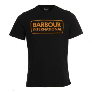 Barbour T-Shirt in Black MTS0369 BK31