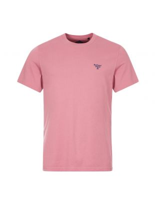 Barbour T-Shirt Logo | MTS0717 RE85 Pink | Aphrodite