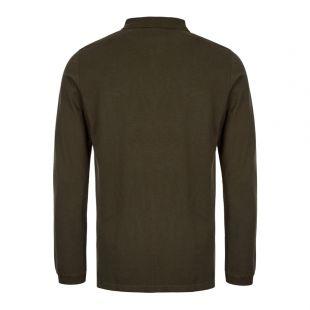 Beacon Long Sleeve Polo Shirt - Green