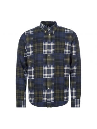 Barbour Beacon Check Shirt | MSH4620 GN94 Forest
