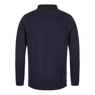 Beacon Long Sleeve Polo - Navy