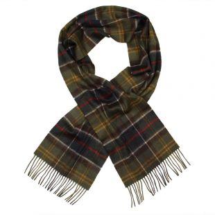barbour scarf classic tartan merino cashmere usc0002tn11