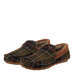 Monty Slippers Thinsulate - Tartan