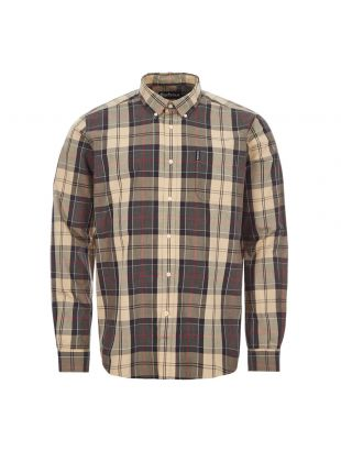 barbour shirt sandwood MSH4712|ST51 stone