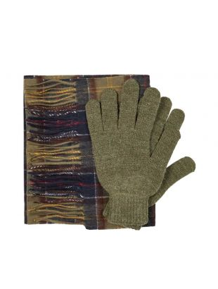 Barbour Scarf & Gloves Set | MGS0018 TN11 Classic Tartan