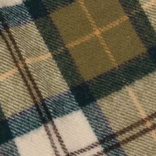 Scarf - Ancient Green Tartan Lambswool