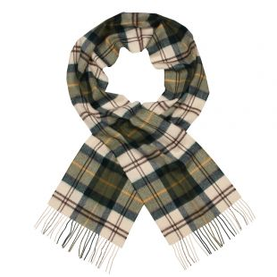 Barbour Scarf Merino Cashmere USC0002TN51 Ancient Green