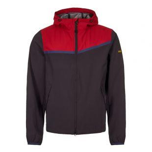 Barbour International Jacket Sevens MCA0547 RE71 Navy / Red