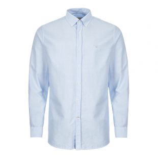 Barbour Shirt Oxford   MSH4483 BL32 Blue