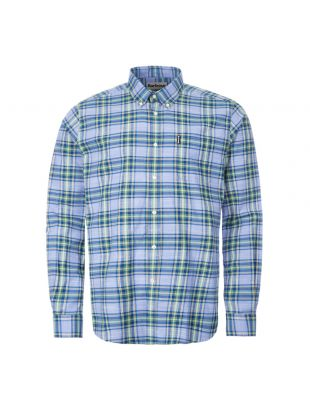 barbour shirt highland check | MSH4657 BL36 sky blue