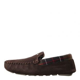 Barbour Monty Slippers in Brown MSL0001BR51