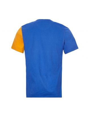 Beacon T-Shirt – Blue / Orange / Green Panel