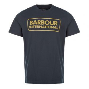 Barbour International T-Shirt Logo | MTS0369 NY91 Navy