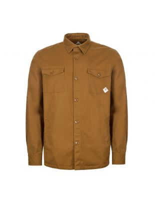 barbour beacon overshirt MOS0077 SN31 camel