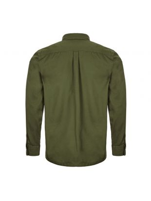 Beacon Overshirt – Twill Forest Green