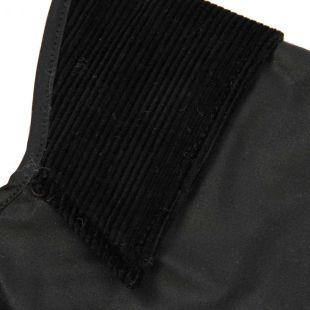 Dog Coat - Black Wax