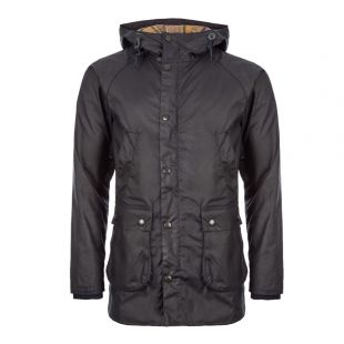 Barbour Bedale Hooded Jacket MWX1369|NY92 In Navy At Aphrodite Clothing
