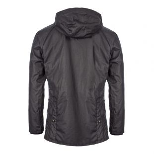 Bedale Hooded Jacket - Navy